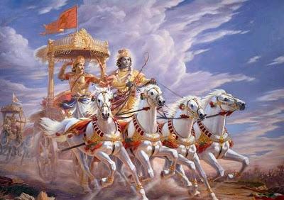 arjuna_Krishna_chariot