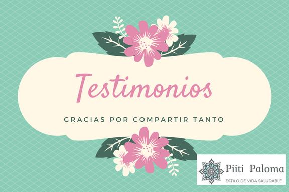 Testimonios Piiti Paloma